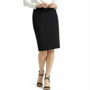 Lafayette 148 Virgin Wool Stretch Pencil Skirt 8
